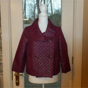 Isaac mizrahi for Target sz 10 maroon jacket